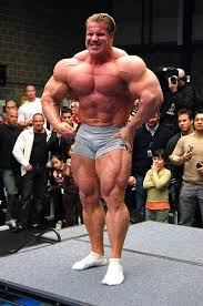 Jay Cutler at perhaps over 300 pounds.